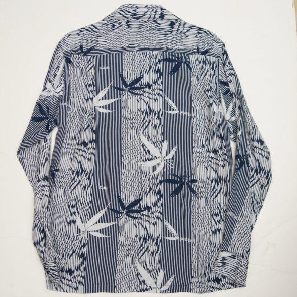バンブー ネービー 長袖