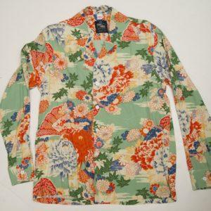 日本 グリーン 長袖