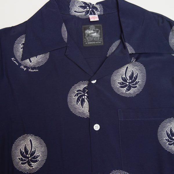 パームツリー ネービー 長袖