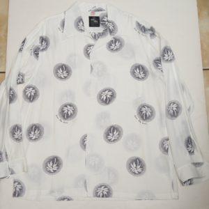 パームツリー ホワイト 長袖