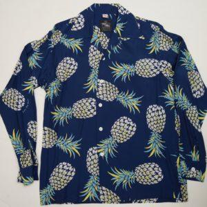 パイナップル  ネービー 長袖