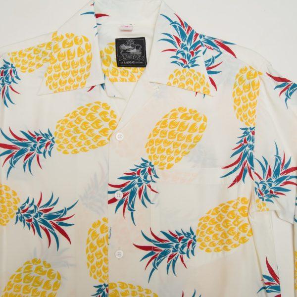 パイナップル ホワイト 長袖